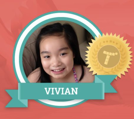 Congratulations to Vivian for being Tynker's Featured Maker