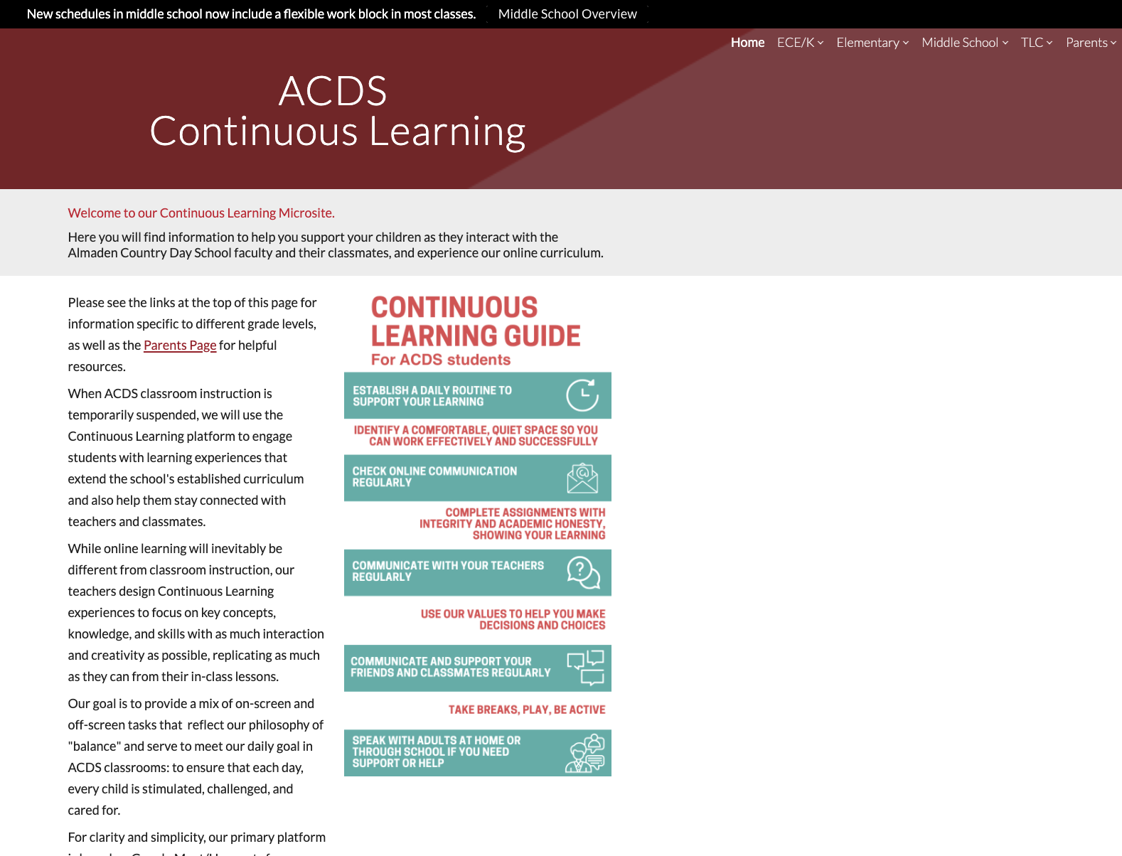 Continuous Learning microsite homepage image
